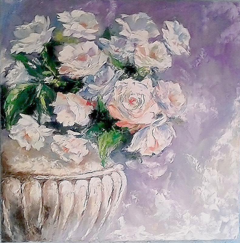 """Картина маслом """"Любов у розквіті"""""""