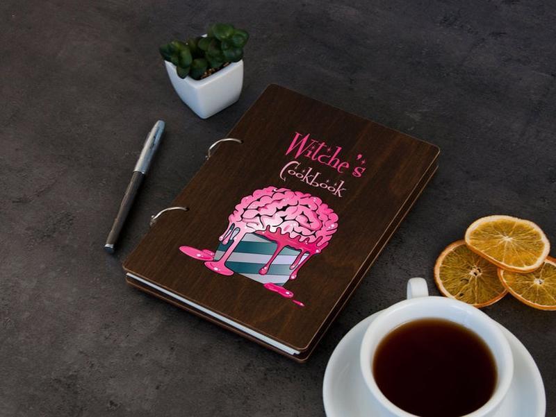 Книга для запису рецептів «Відьмині рецепти»