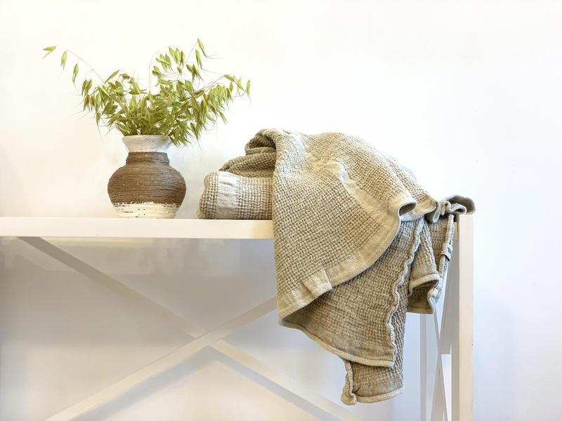 Рушник OWL льон з бавовною «NATURE»