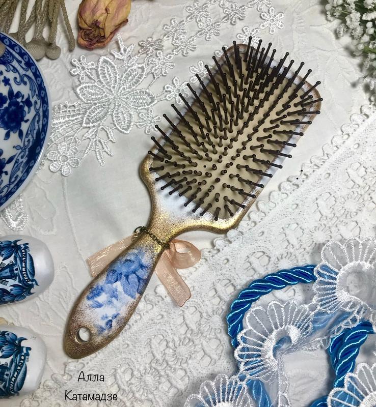 Массажная щётка для волос