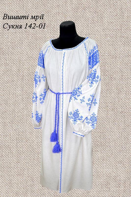 Плаття на льоні