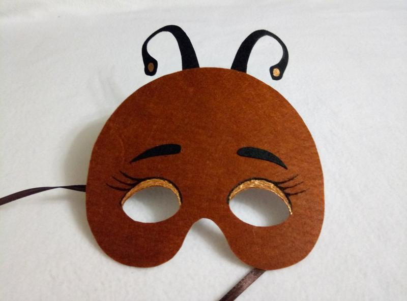Маска муравья картинка
