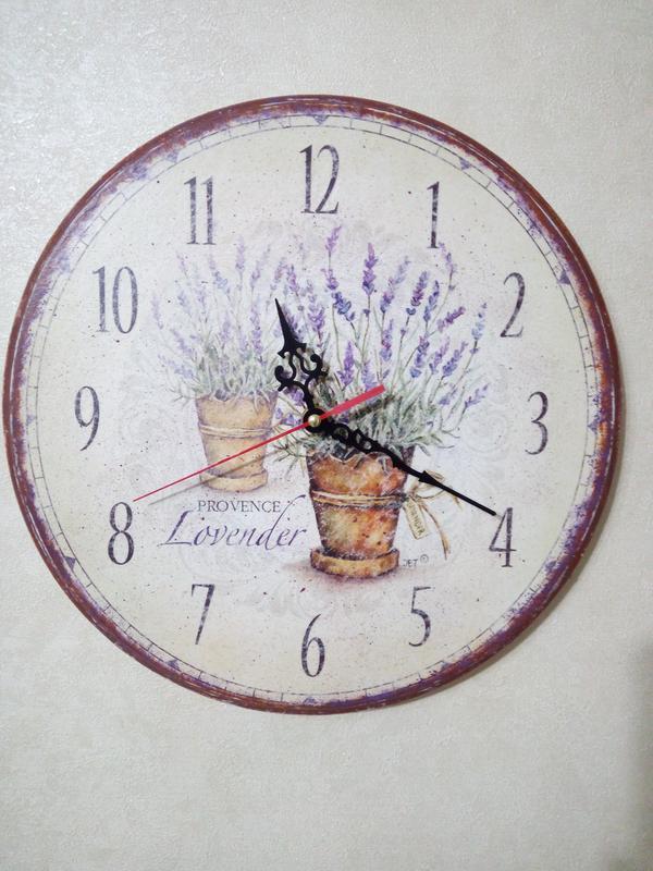 """годинники настінні """"Лаванда"""""""