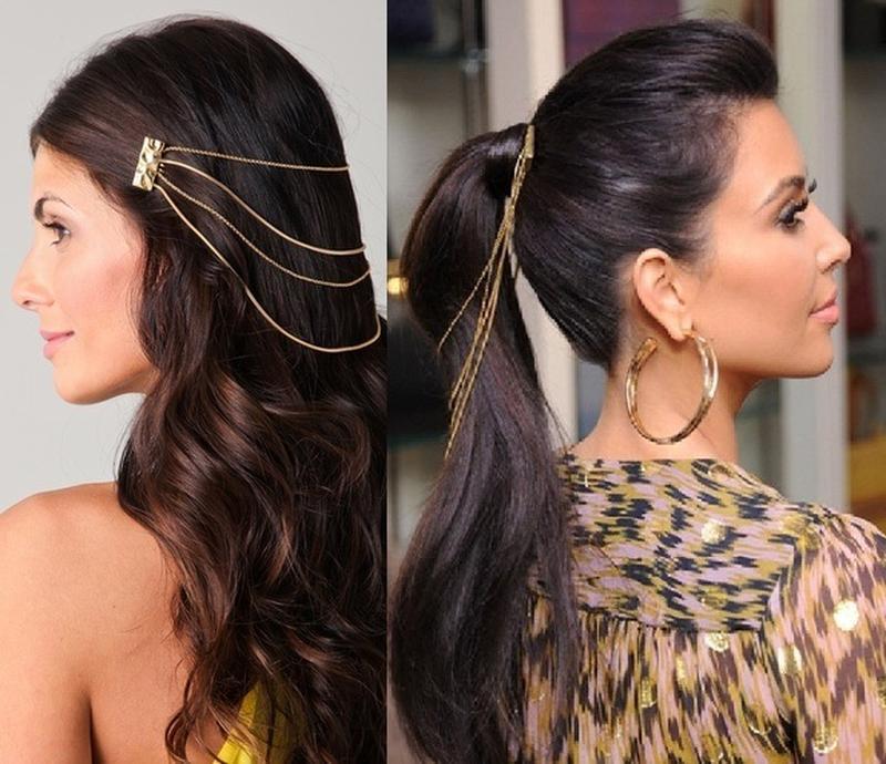 Ексклюзивна прикраса для волосся+гвоздики