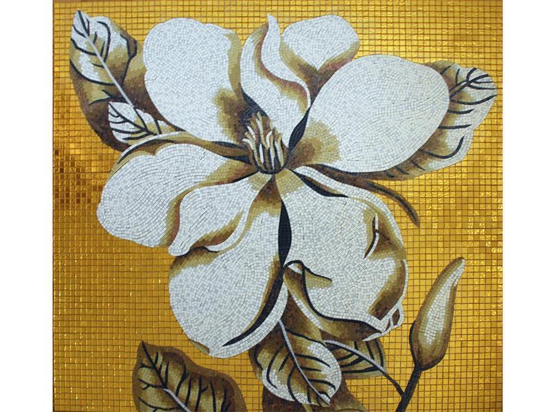 Мозаїчне панно Коричневий квітка