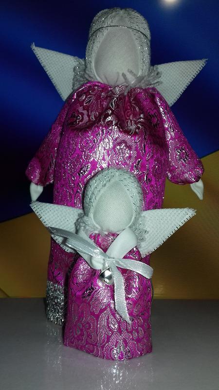 """Пара """"Янголят""""Подарунок-оберіг у будинок.Handmade."""