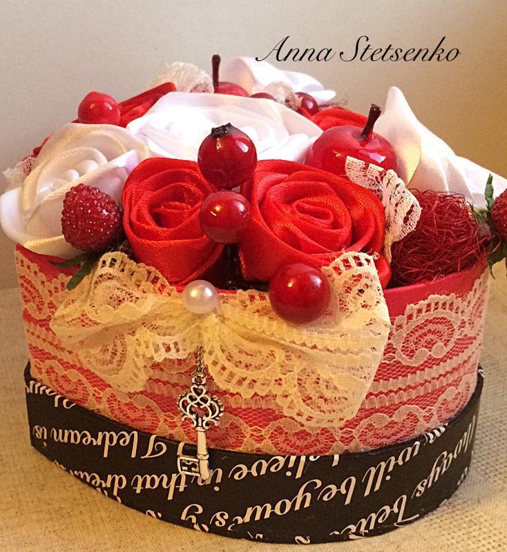 Коробка з квітами