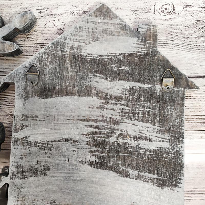 Именная настенная ключница с полкой - отличный подарок, нанесение любых надписей
