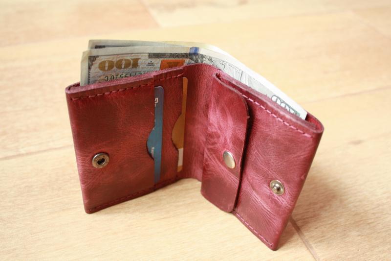 cdd2d632303b Бумажник из натуральной кожи (10 цветов) портмоне кожаное мужское, кошелёк  женский, бумажник мужской