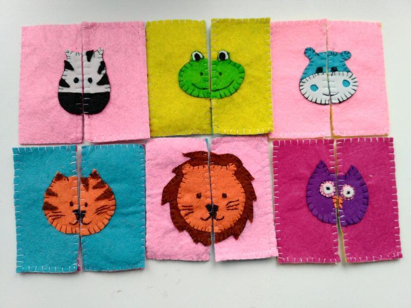Картки - пазли для малюків