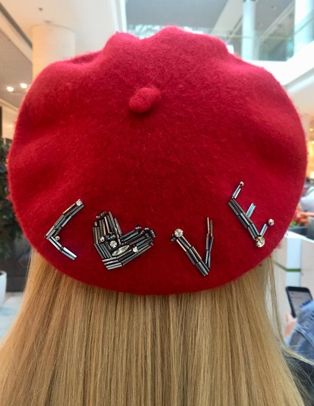 """Берет """"Red Love"""""""