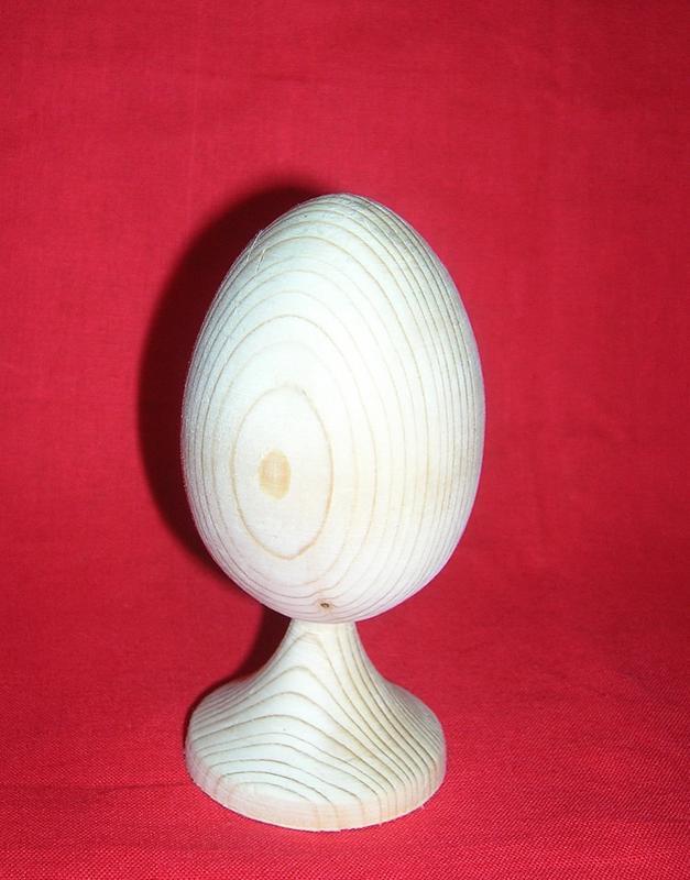 Заговка дерев'яне яйце