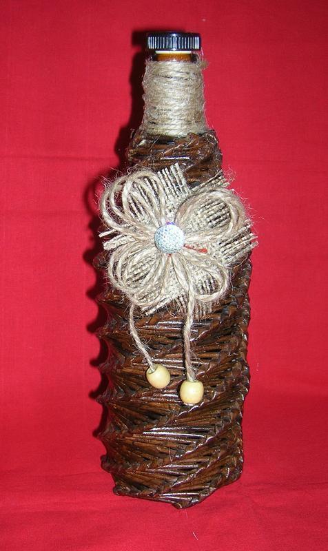 Декоратиная пляшка