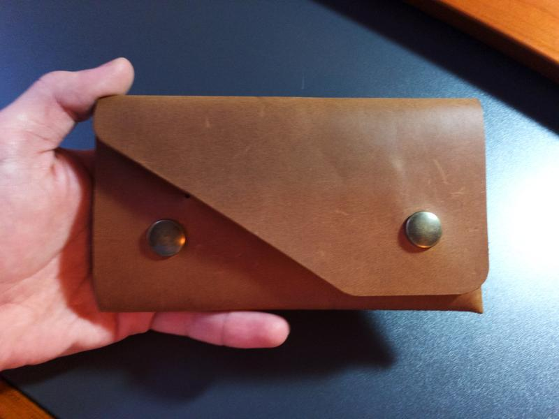Вінтажний гаманець CrazyHorse з безшовним дизайном