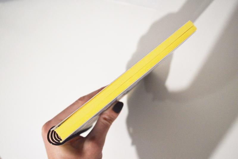 """блокнот """"Геометрический кот"""". Желтые страницы. Оригинальный подарок"""