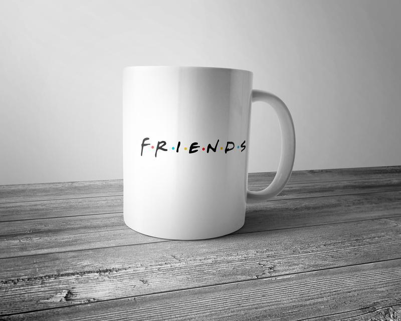 "Чашка с принтом ""Friends"""