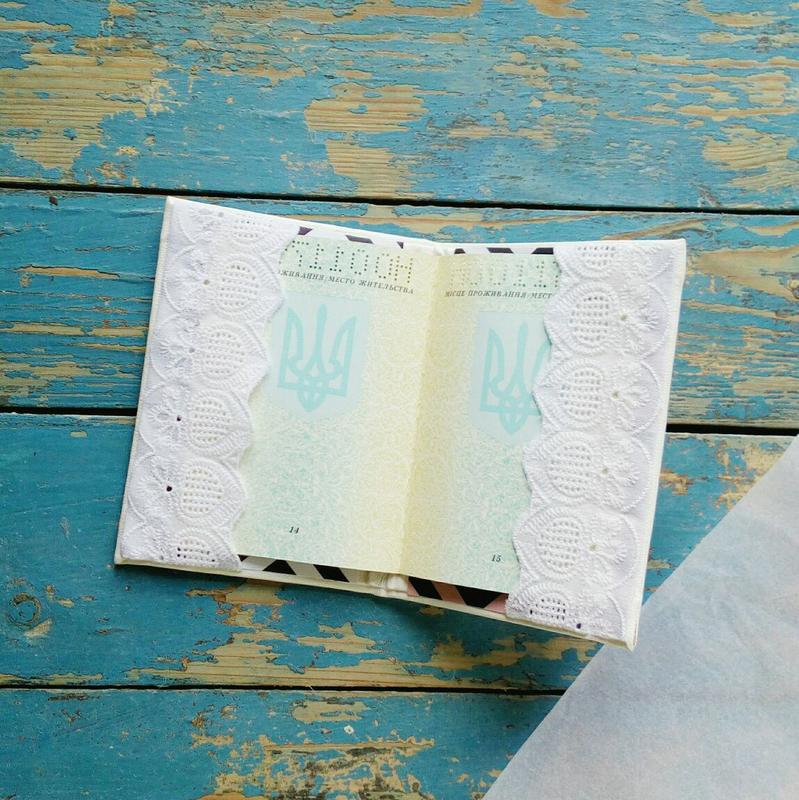 Обкладинка на паспорт з еко-шкіри