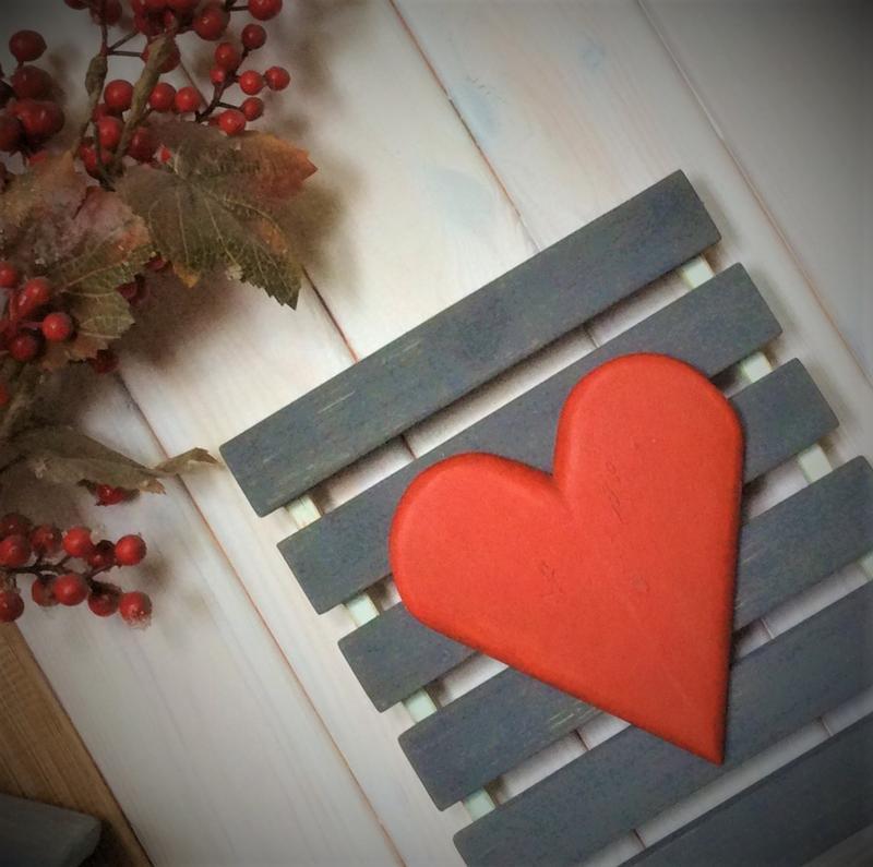 Настенный декор - Сердце