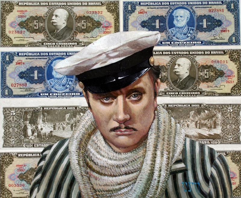 Портрети (кіногерої,комедійні персонажі,ваші рідні і близькі,друзі...)на оригінальних банкнотах