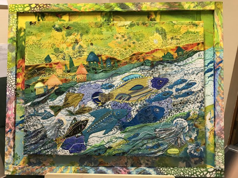 Картина «На хвилі чистої надії» 100х80см