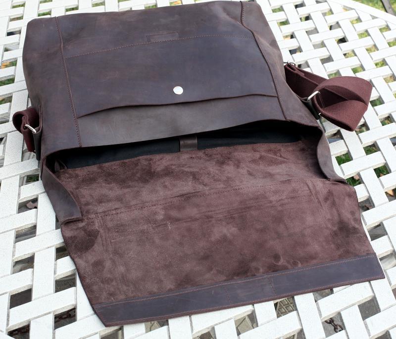 Сумка-портфель через плечо, мессенджер