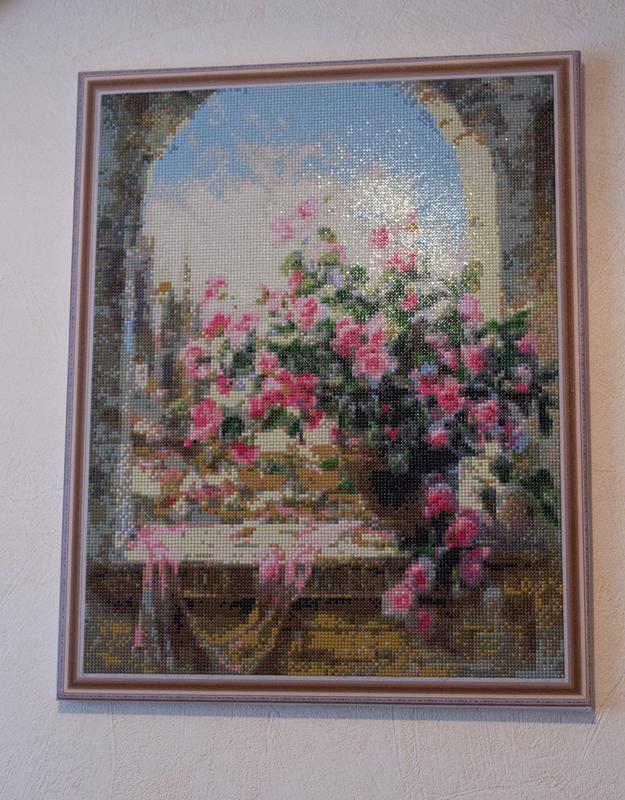 "Алмазна мозаїка ""Квіти"""