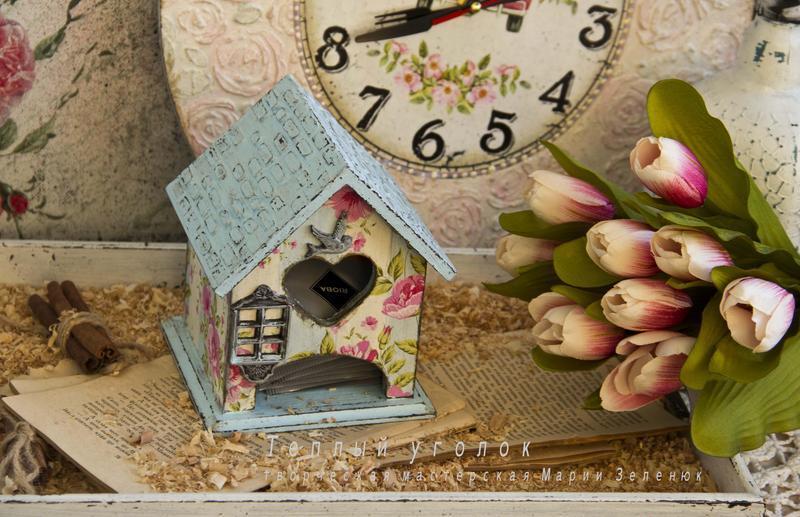 чайний будиночок весняний