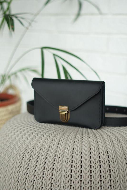 Сумка для телефона на пояс, поясная сумка из натуральной кожи, женская сумочка через плечо