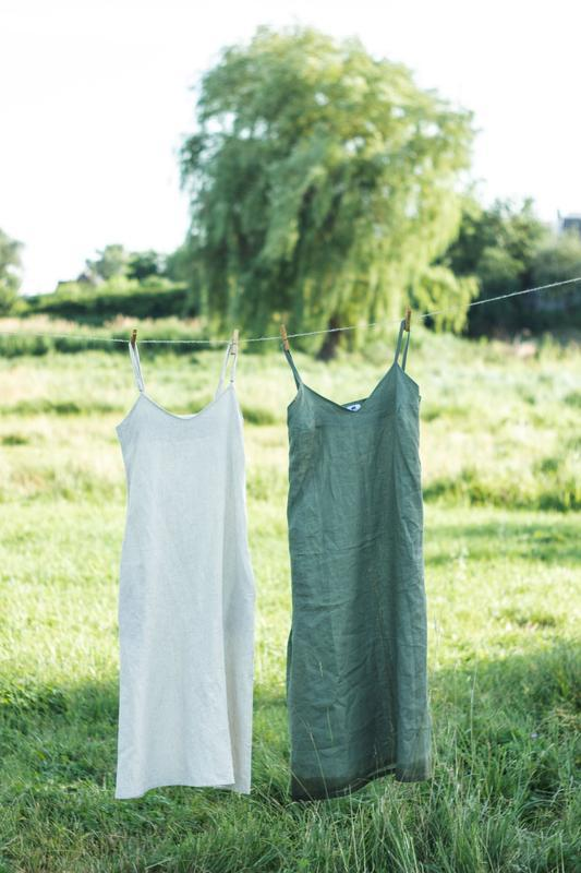 Льняное платье / Сарафан из натурального льна