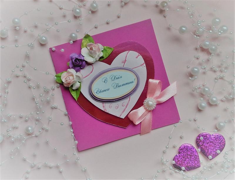 Мини открытки ручной работы до дня валентина, поцелуй гифы