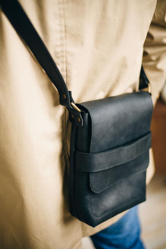 Кожаная мужская сумка, кросбоди, сумка для парня, сумка для мужчины