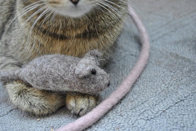 """игрушка для котиков """"Мышатина"""""""