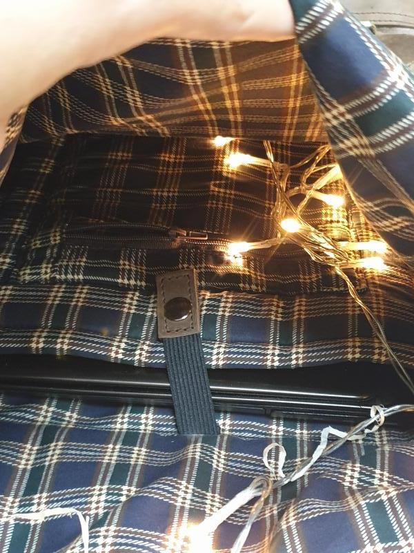 Рюкзак Roll Top из хлопка и натуральной кожи