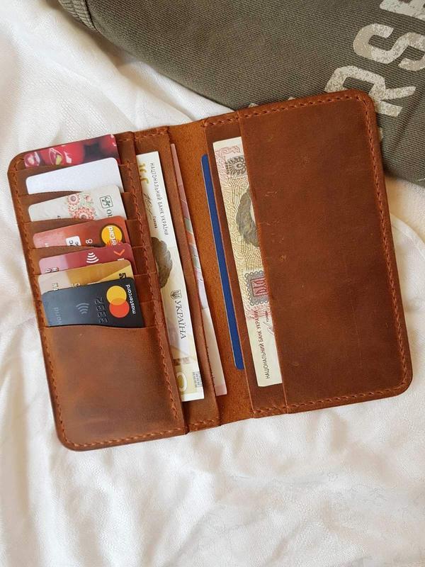 Бумажник Stedley Ostrek 2 кожаный табак