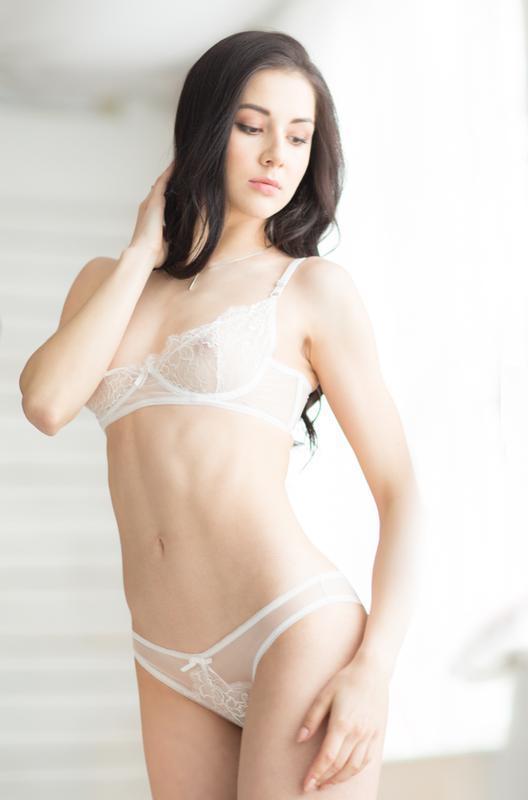Белый Комплект Нижнего Белья Женское Белье Сексуальное Нижнее Белье Белое Кружевное Белье