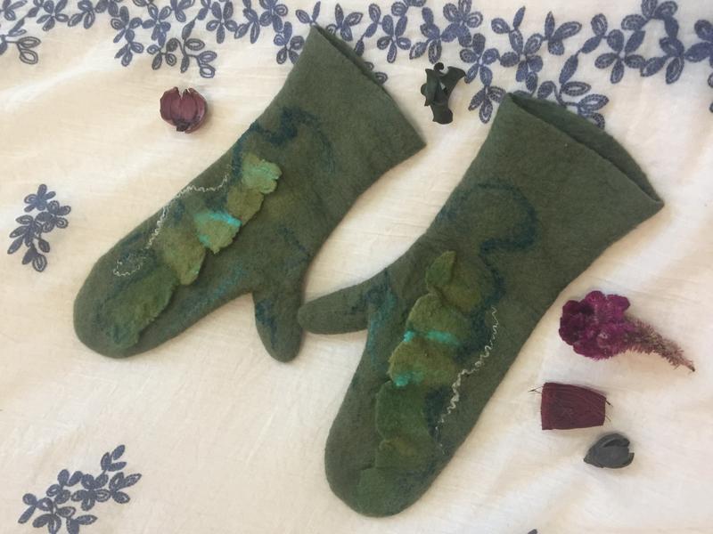 Перчатки «Поздняя весна»