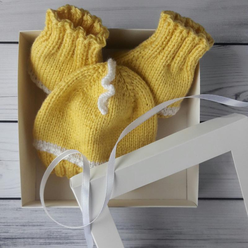 Курча - подарунковий набір для малюка в коробці