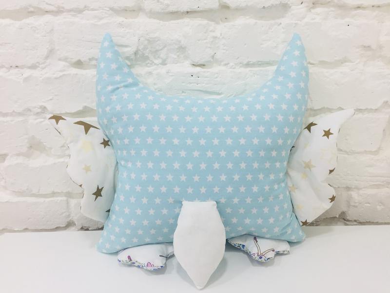 сова подушка-игрушки сплюшки-декор в детскую-подарок девочке на день рожденья-подарки для детей