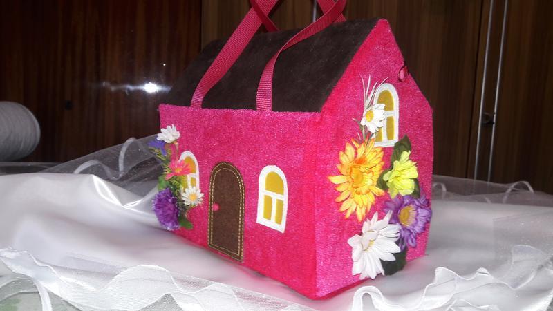 Сумки домики для девочек