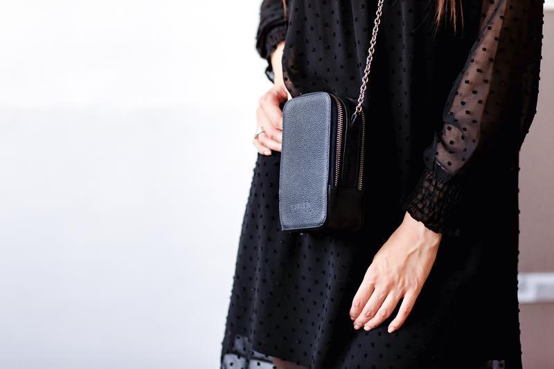 Стильная мини сумка- кейс для телефона