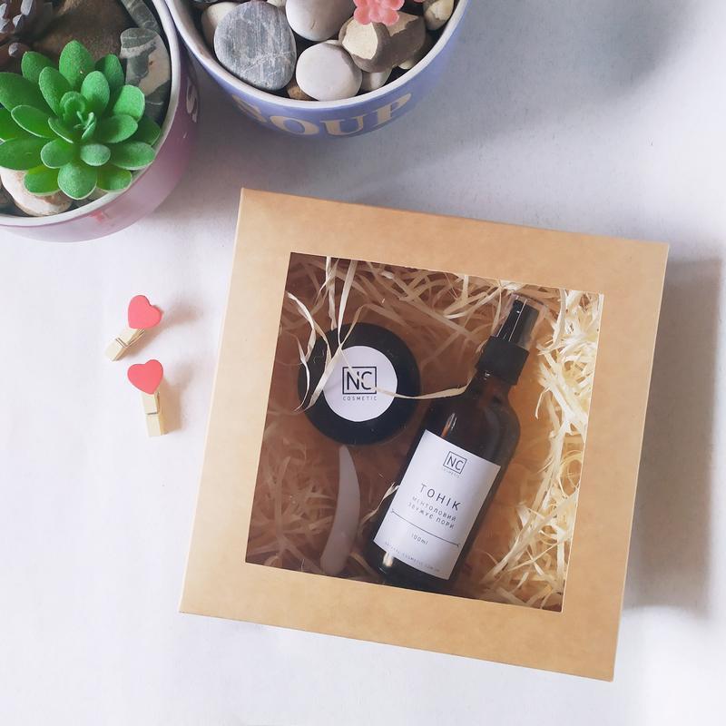 Подарочный набор для чувствительной кожи с алоэ вера и пантенолом