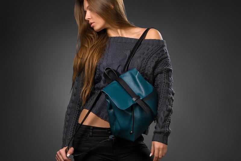 "Женский рюкзак ""Глория"" Морской 1_0001[Size]_GLR"