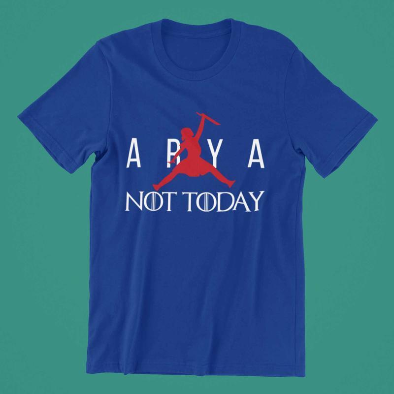"""Футболка спринтом """"ARYA NOT TODAY"""""""