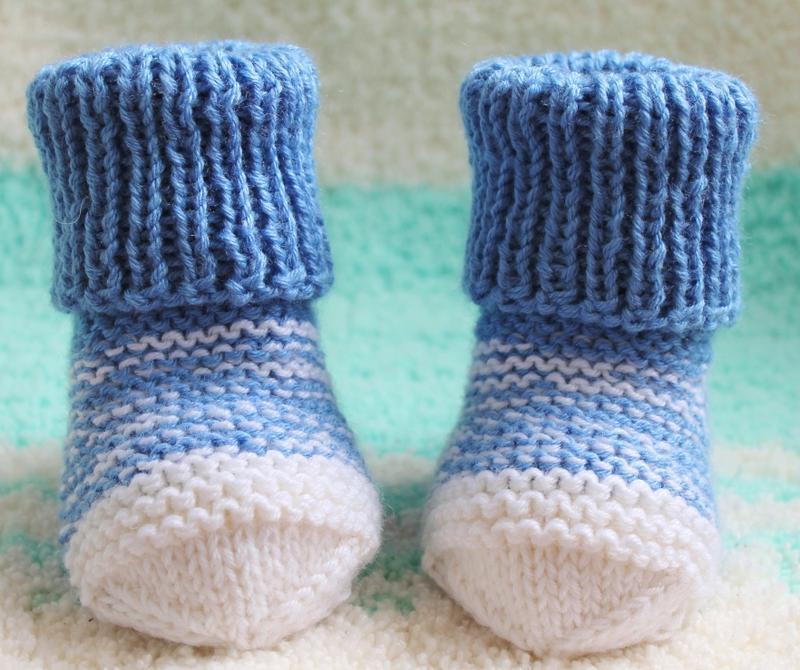 """Голубые носочки """"Аистёнок"""""""