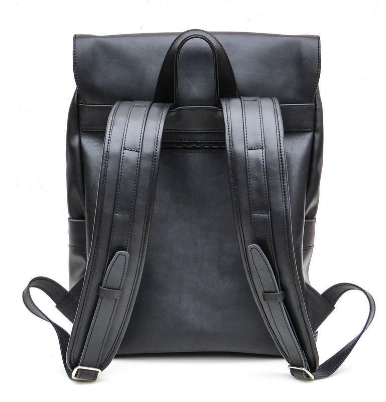 Кожаный рюкзак черный TARWA GA-9001-4lx