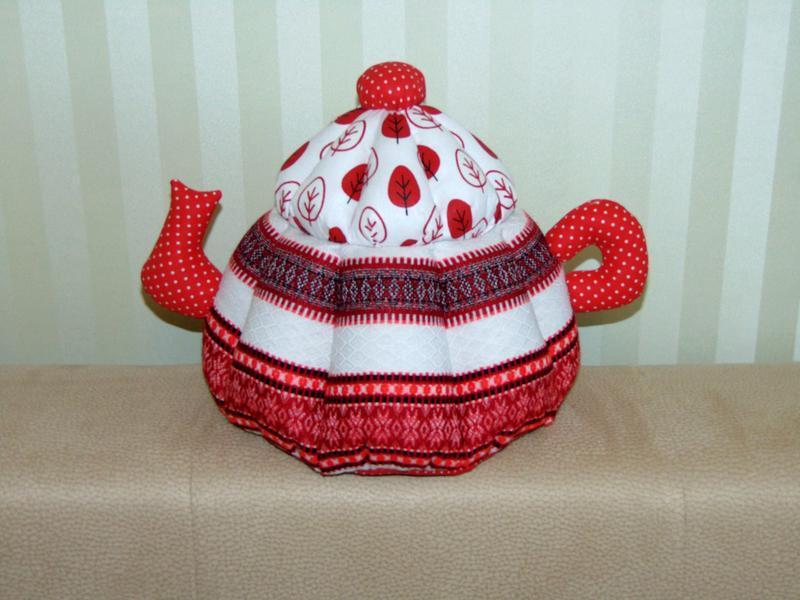 Чайник-грілка в етно стилі