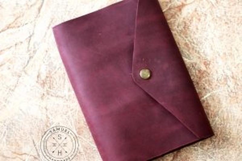 Purple softbook - кожаный блокнот