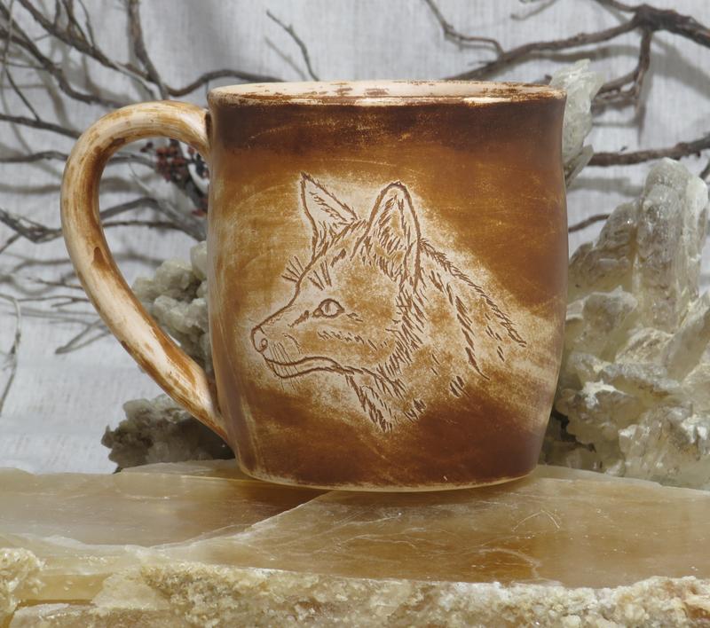 Чашка с лисой Чашка керамічна Чашка глиняная Чашка для чая Чашка Чашка для кофе Чайная чашка №568440 - купить в Украине на Crafta.ua