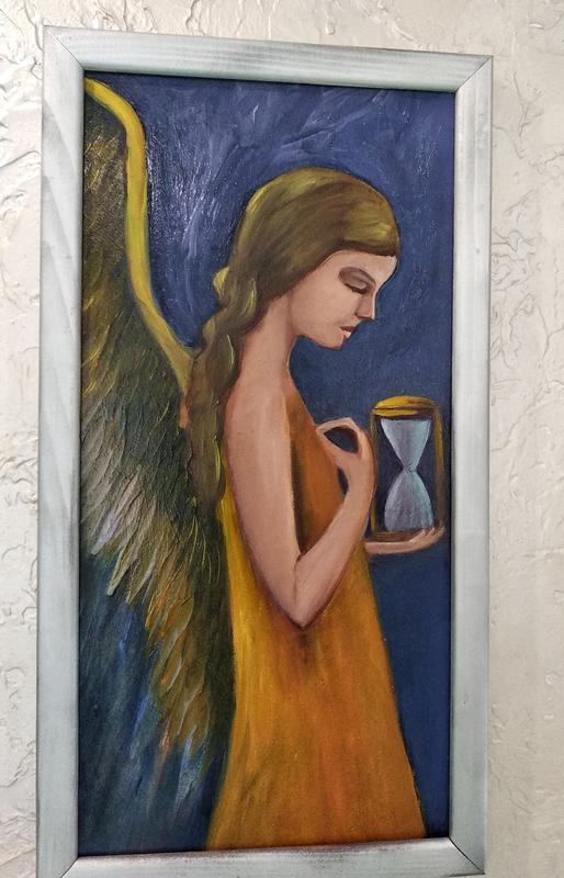 """картина """"Ангельское время"""", размер 20х40см"""
