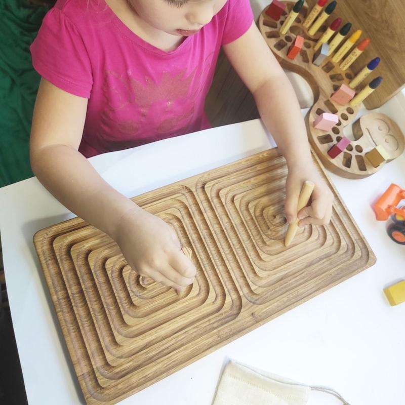 Межполушарная двухсторонняя доска, дидактический лабиринт, развивающая игрушки, ресурс для логопеда